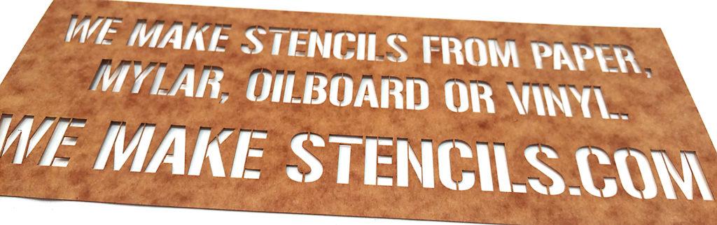 plastic stencils