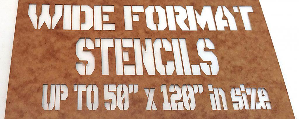 Wide Format Stencils